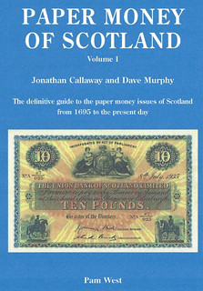 Paper Money of Scotland book cover   by Numismatic Bibliomania Society