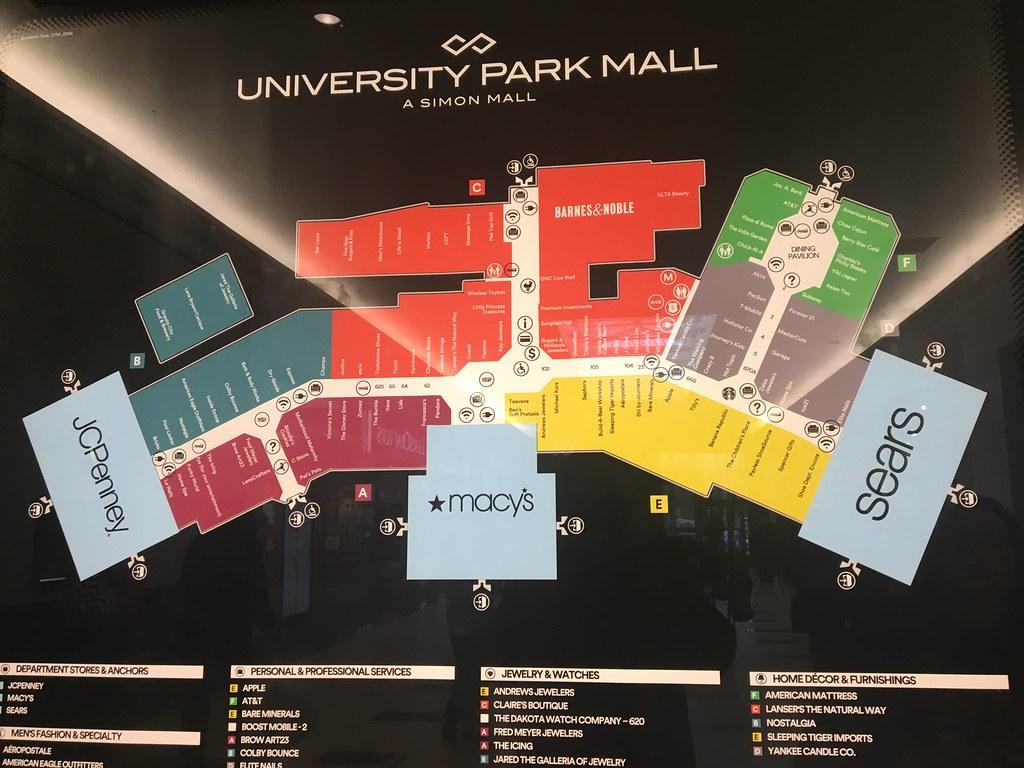 University Park Mall, Mishawaka, Indiana | Directory