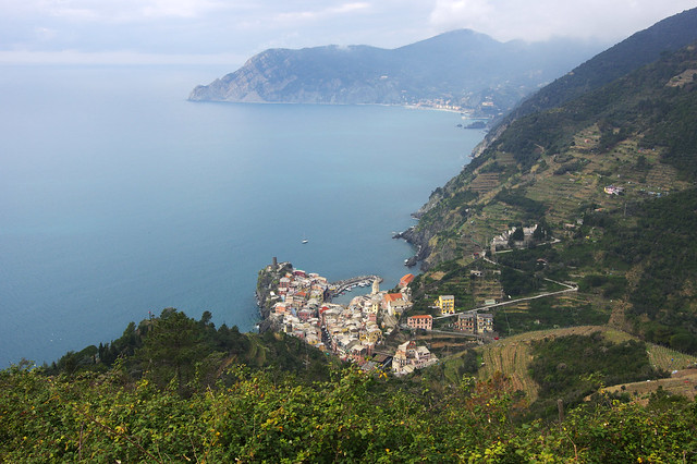 Day 3: Vernazza from above