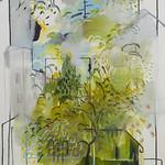 oil on canvas 270 x 145cm 2016