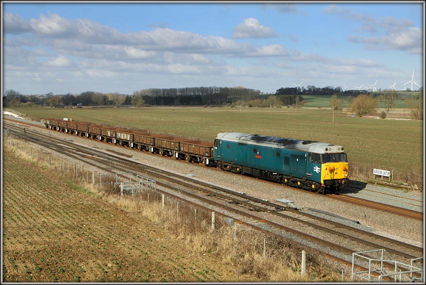 50008, Harrowden Junction
