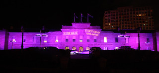 Tasmania's Parliament House Going Purple for World Elder Abuse Awareness Day 2015 | by jacquiepetrusma