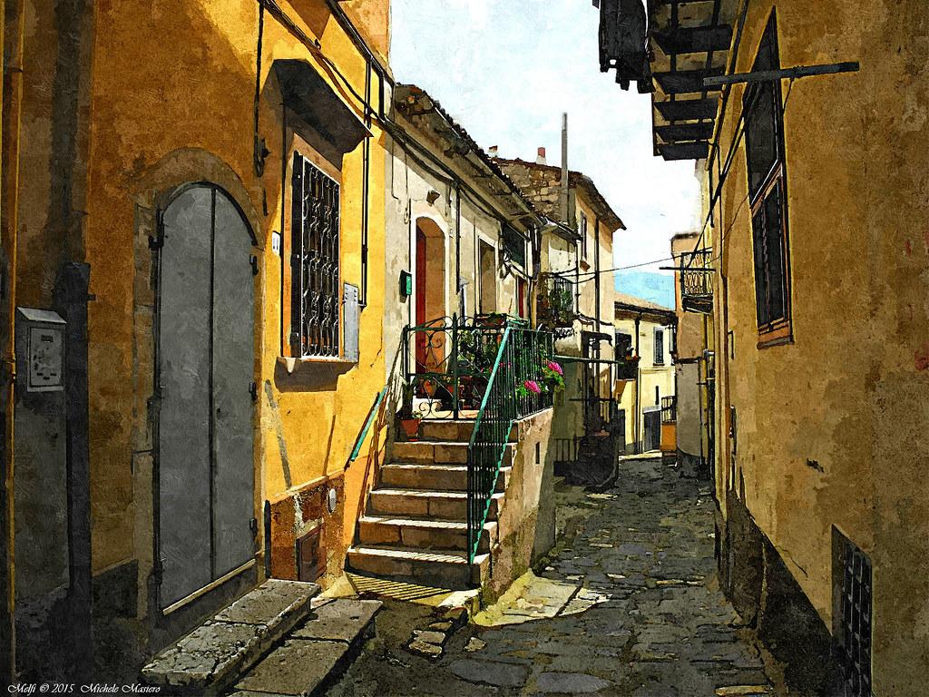 Melfi, Il Borgo, the Ancient village | Melfi Basilicata, ita
