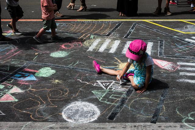 Street artist - Brussels [Explored 28-06-15]
