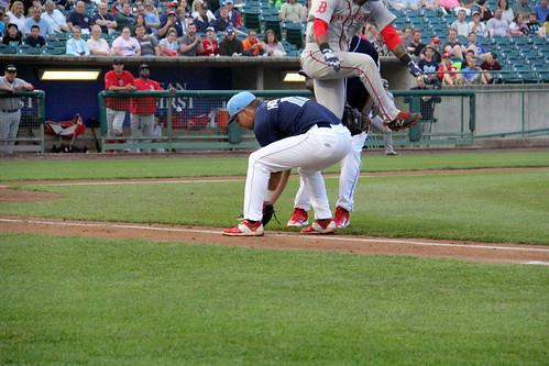 Asleep on the job   by NJ Baseball