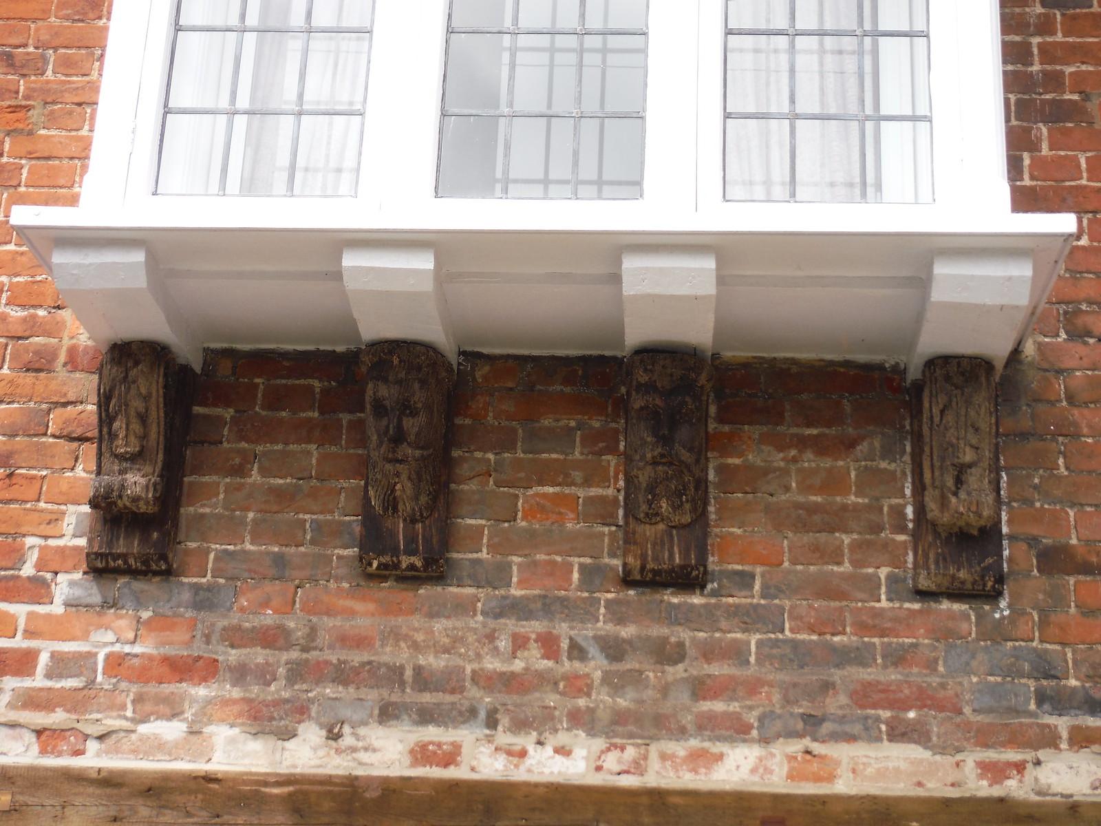 De Vaux House, Detail SWC Walk 254 Salisbury Circular