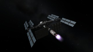 Atlantis 1 Burns to High Kerbin Orbit | by Second City Warehouse