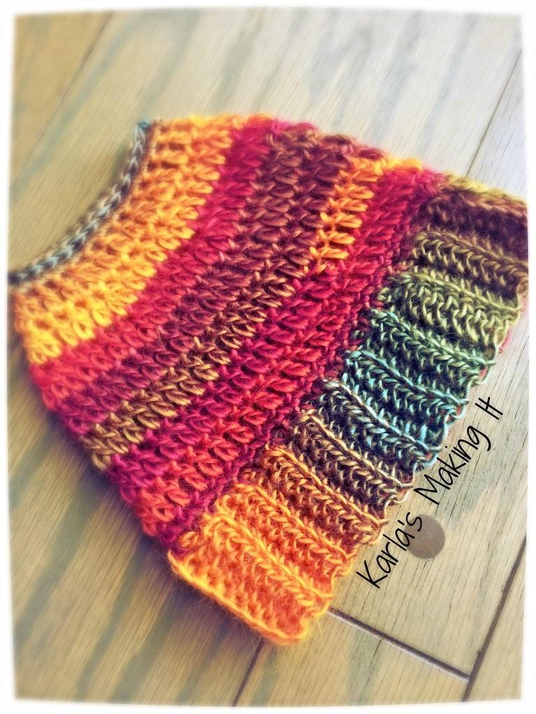 Messy Bun Hat Free Crochet Pattern From Karlas Making It Flickr