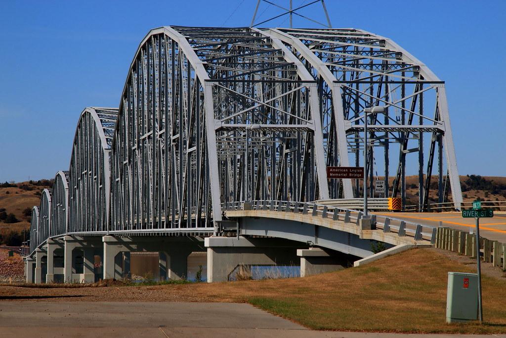 American Legion Memorial Bridge Chamberlain Sd The