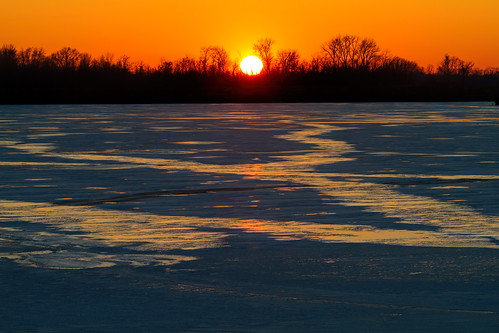 2017 canon eos7d horseshoelake illinois january midwest ice nature outdoors sky sunset water pontoonbeach unitedstates us