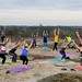 Sunset Yoga at Arabia Mountain - March 18, 2018 | Monadnock Madness