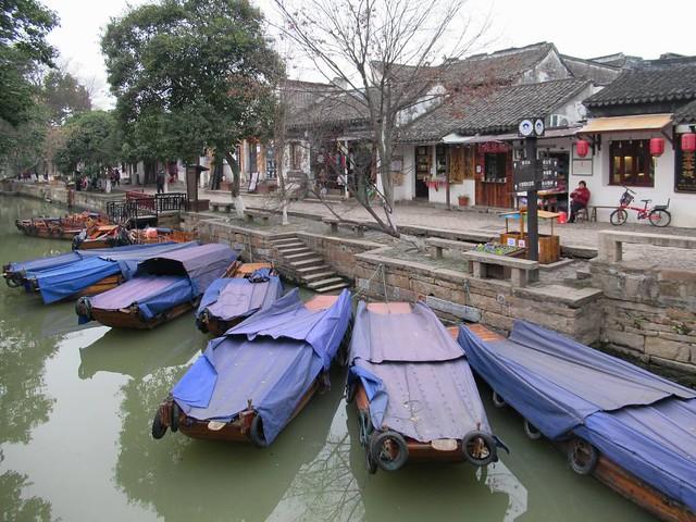 Tongli Canal Boats