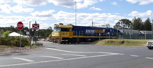 Wingello crossing, once was NRE17
