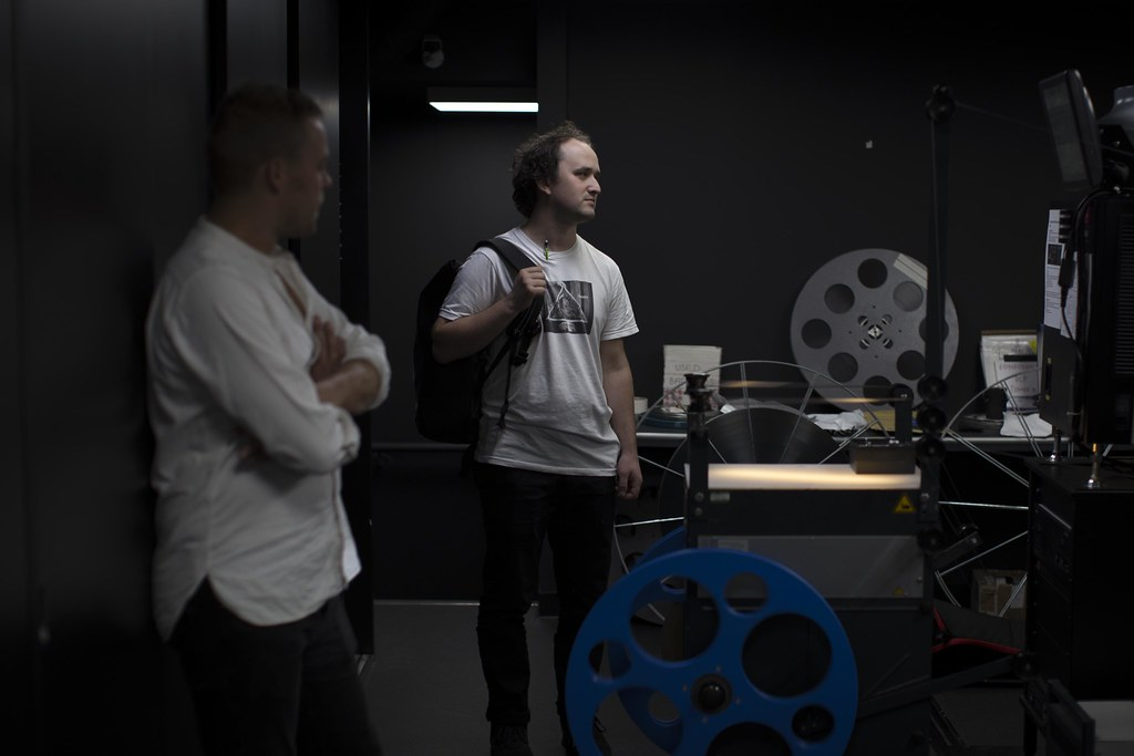 lowest price c61cd 4f9ee ... Starr Cinema Projection Room, Tate Modern   by Duncan R S Harvey