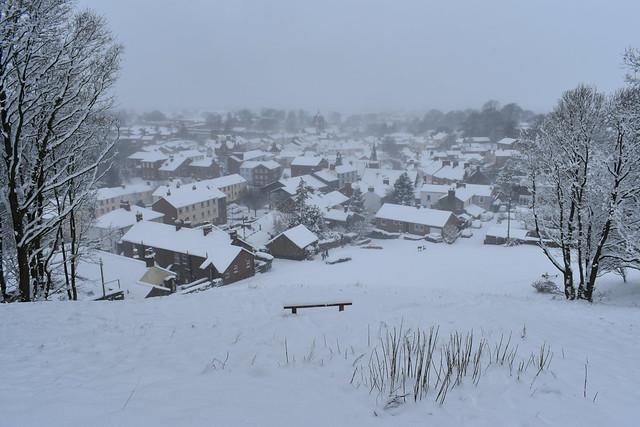 Brampton Cumbria Snow March 2018