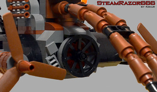 SteamRazor666 09 Main Engine | by kocurvelox