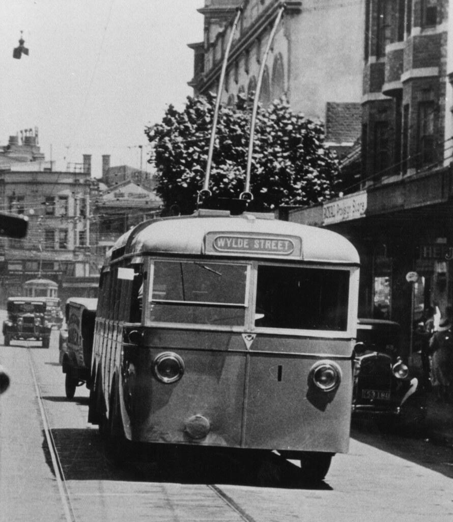 Trolley Bus No 1, Kings Cross, Sydney, NSW. | Darlinghurst R… | Flickr