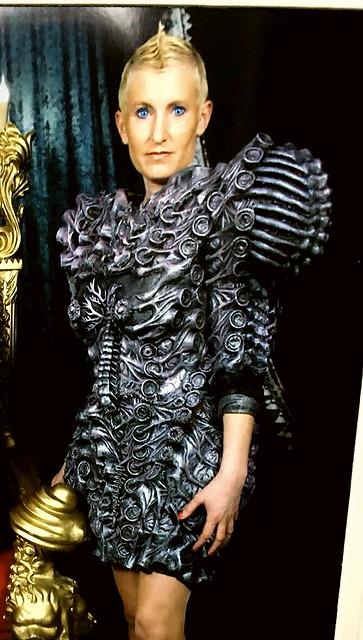 alien autopsy dress