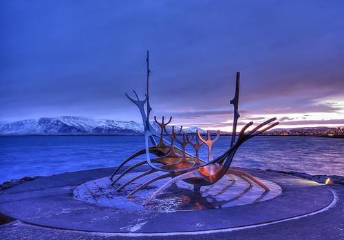 sunvoyager skulptur sonnenaufgang sunrise reykjavik island iceland pentax k3 sigma1020 matthias körner mattkoerner1 mk|photography