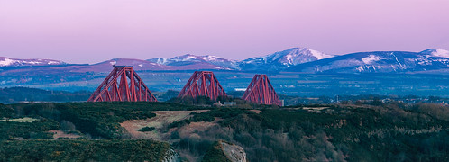 forthrailbridge forthbridges bluehour sunset bridge lothians pentlandhills fife scotland nikond7200 tamron150600mm 250mm