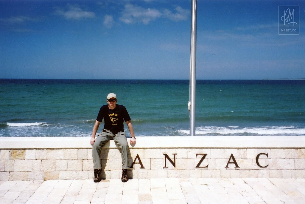 Touring ANZAC Cove