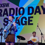 Sat, 17/03/2018 - 4:46am - The Shacks Live at SXSW Public Radio Day Stage, 3.16.18 Photographer: Gus Philippas