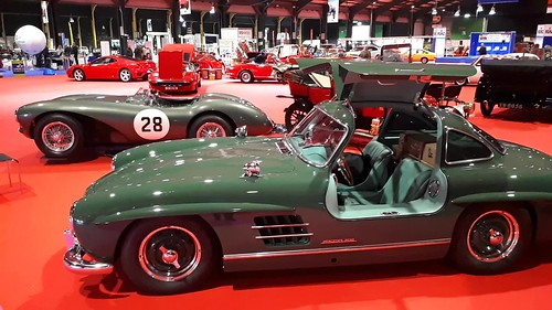 Classic Car Show 2018 in Dublin(Setting up for the weekend)RDS 10th & 11th March