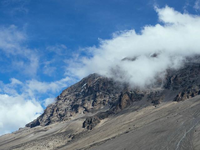 Clouds over Kili