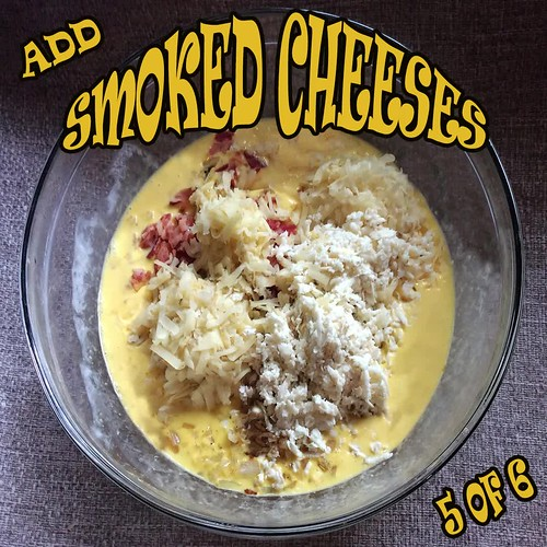 Smoked Cheese & Bacon Quiche slide 5