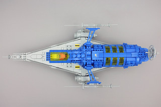 LL 228 Long Range Scout - top view   by hhcBrick