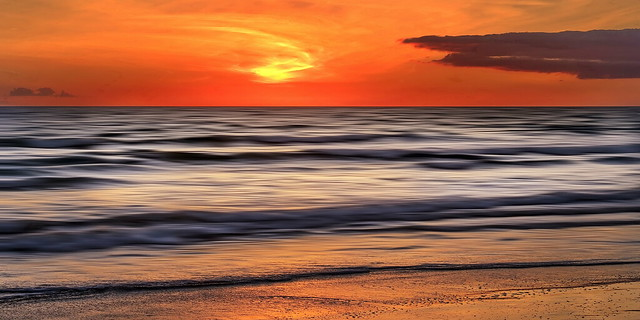 Salgados Beach Sunset