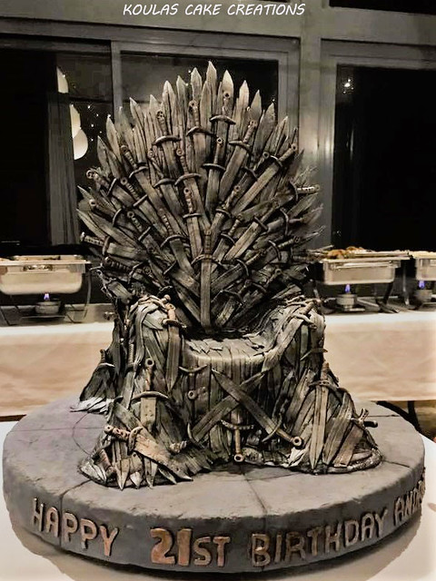 Games of Throne Cake