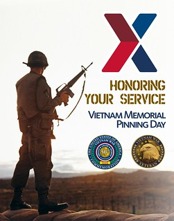 Exchange Vietnam Memorial Pinning Day | by Army & Air Force Exchange Service PAO