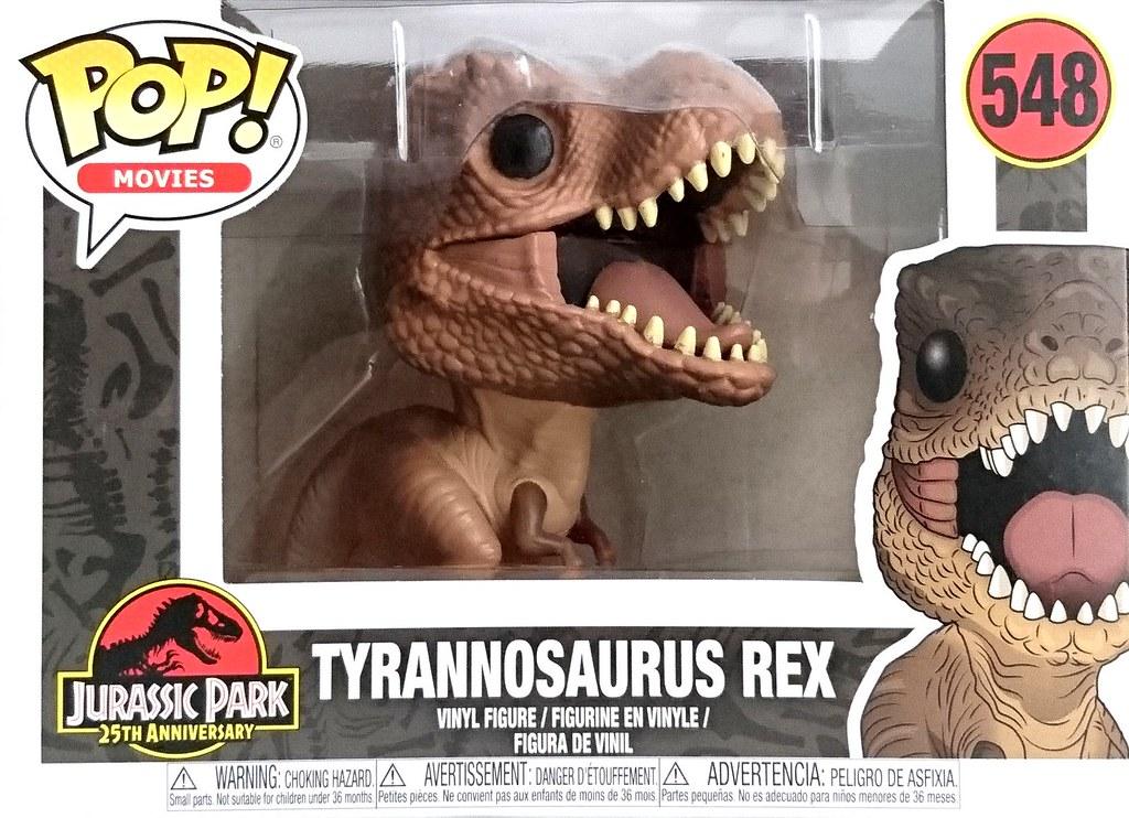 Funko Pop Vinyl-Jurassic Park-Tiranosaurio Rex 548
