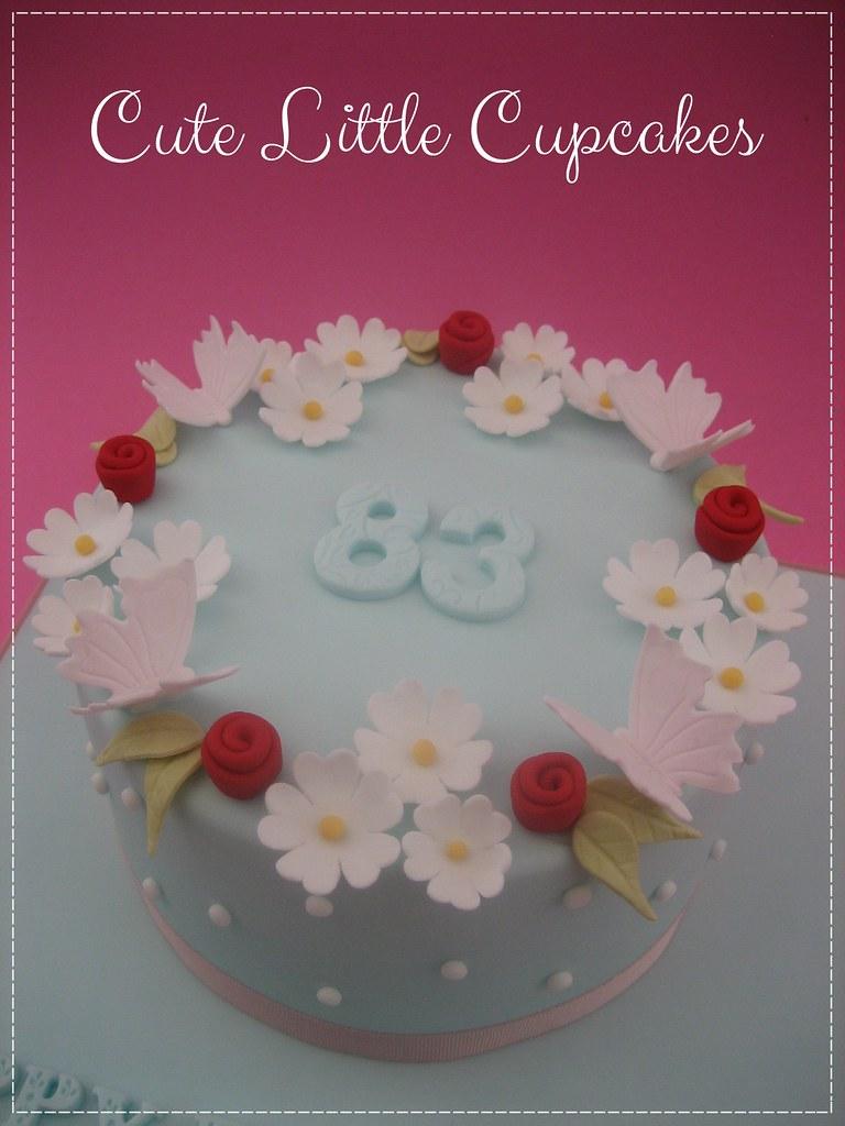 Strange Daisy Birthday Cake Heidi Stone Flickr Funny Birthday Cards Online Alyptdamsfinfo