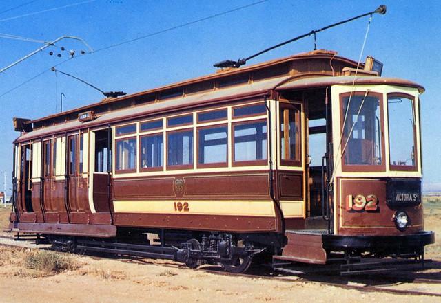 D192, Australian Electric Traction Museum, St Kilda, South Australia.