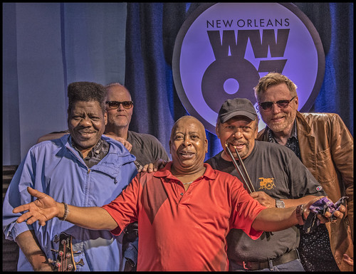 Brother Tyrone & the Mindbenders. Photo by Marc PoKempner.