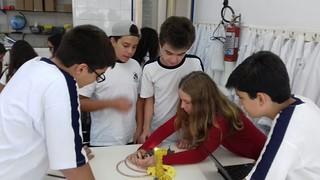 Aula de Ciências: sistema nervoso - 8º ano