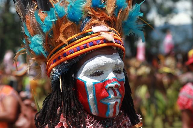 Art color of Papua New-Guinéa