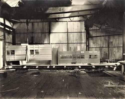 Uganda Railway - UR postal van under construction (Gloucester Railway Carriage and Wagon Company)