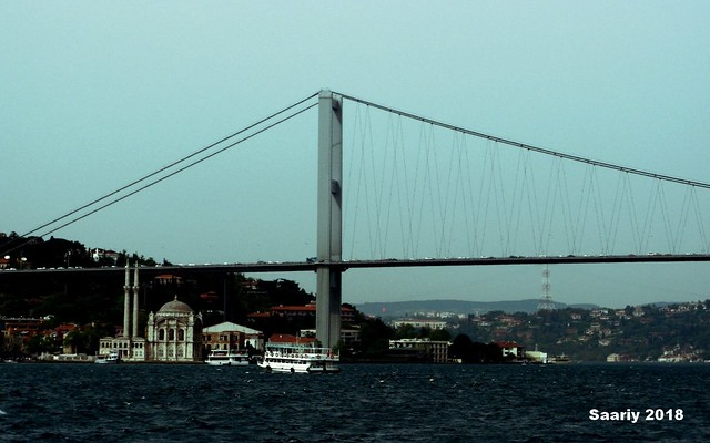 A SAIL TRIP ON THE POSPHORUS CANAL - ISTANBUL