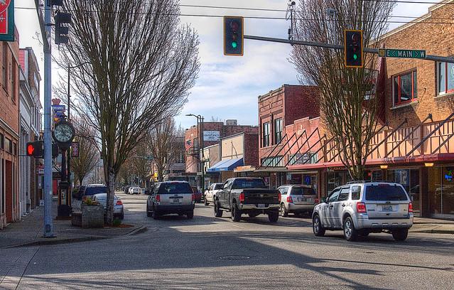 Main Street U.S.A, Puyallup