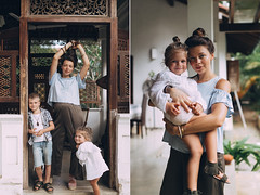 Family photoshoot in Weligama