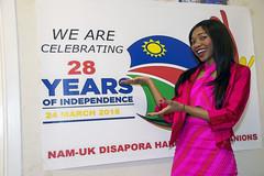 DSC_2453 Namibia Independence Day 2018 Celebration London Celebrating 28 Years of Independence Nam-UK Diaspora Harmony Companions Host Monika Krammer Miss Southern Africa