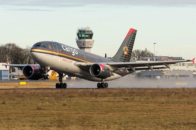 Royal Jordanian / Airbus A310F / JY-AGQ / EHBK