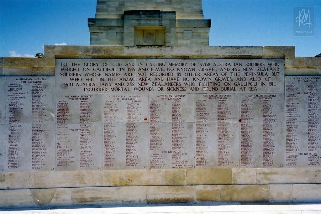 The Lone Pine Memorial