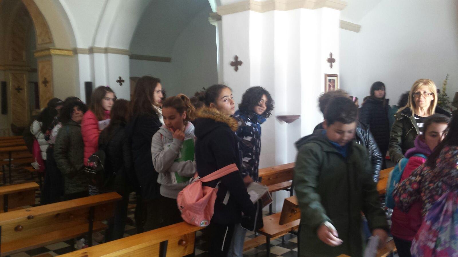 (2018-03-19) - Visita ermita alumnos Yolada-Pilar,6º, Virrey Poveda-9 de Octubre - Maria Isabel Berenquer Brotons - (07)