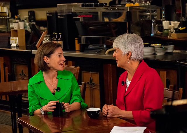 Coffee Talk with Carole James