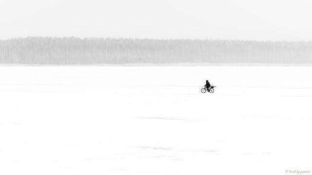 Through the white