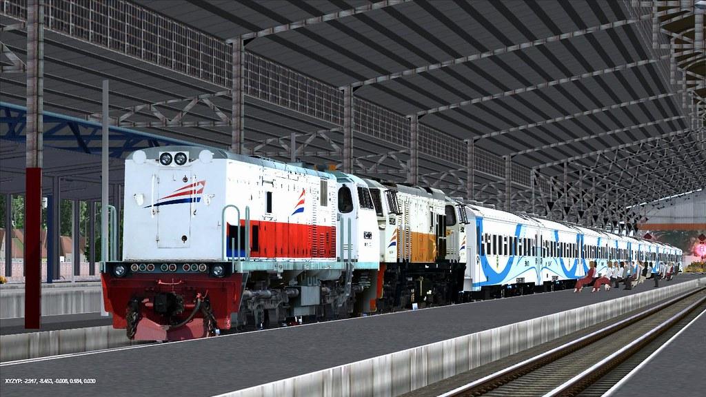 Trainz12 Indonesia - KA Gajahwong | Trainz Simulator Indonesia | Flickr
